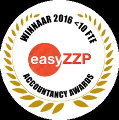 EasyZZP accountancy awards 2016